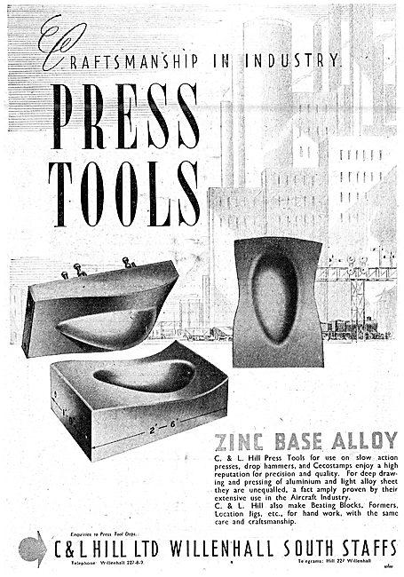 C & L Hill  Press Tools