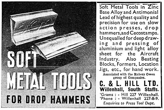 C & L Hill Soft Metal Machine Tools