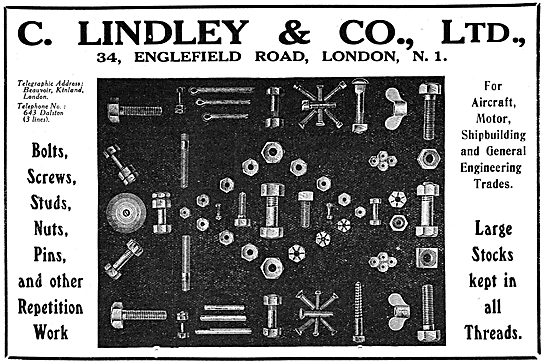 C.Lindley & Co. Repetition Work, AGS Parts.