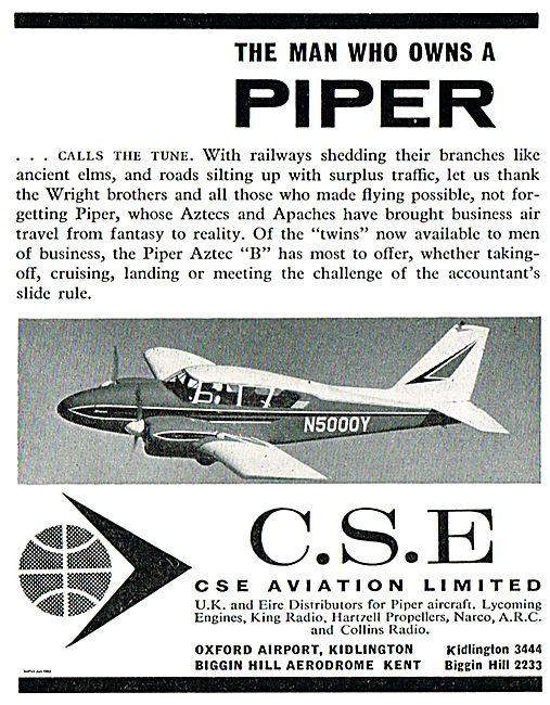 CSE Aviation Oxford Airport - Piper Aircraft Distributors