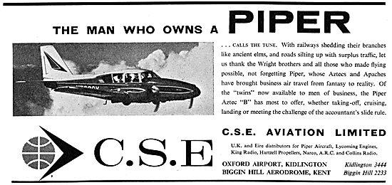 CSE Aviation - Piper Aircraft Distributors