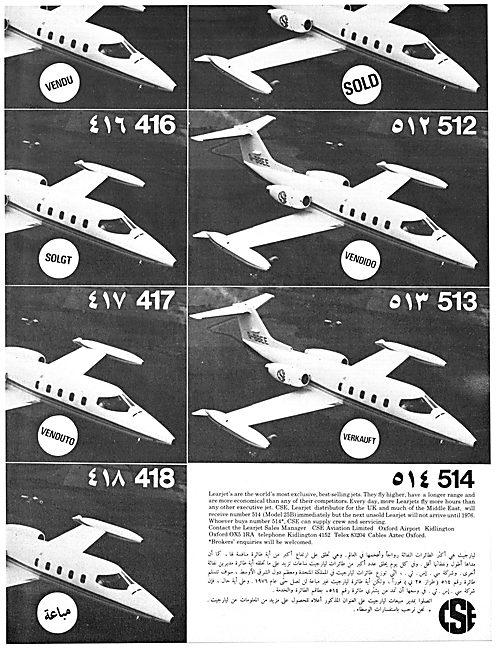 CSE Aviation Learjet