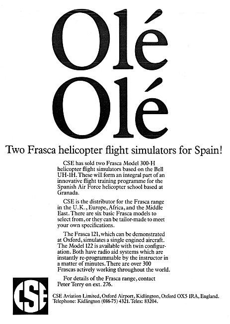 CSE Aviation - Oxford Air Training School - Frasca Simulators