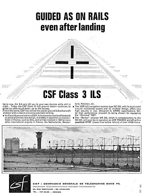 CSF ILS Installations