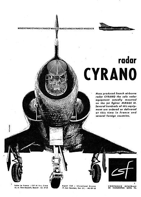 CSF CYRANO Radar