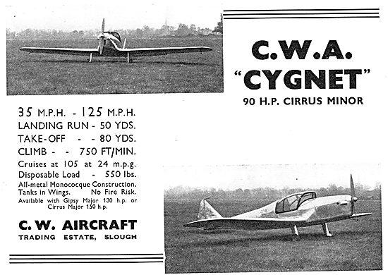 C.W.Aircraft Cygnet