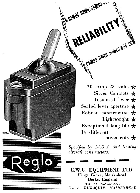 CWC Reglo Electrical & Electronic Components
