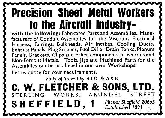 C.W.Fletcher Precision Sheet Metal Workers