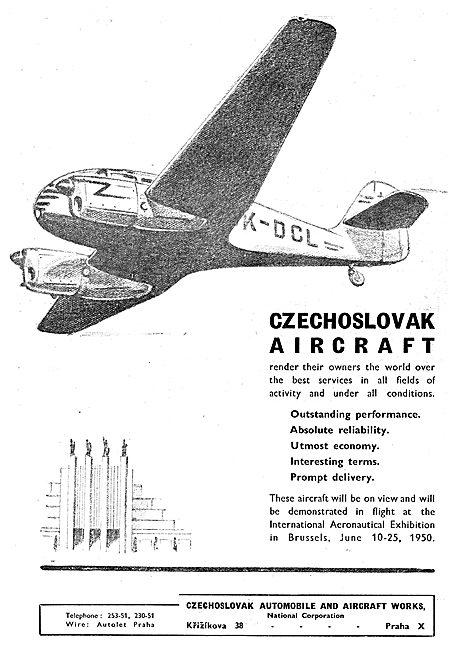 Czechoslovak  CZ  Aircraft