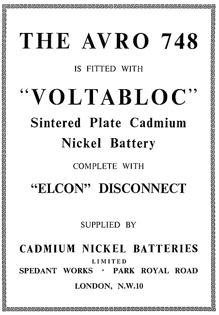 Cadmium Nickel VOLTABLOC Sintered Plate Cadmium Nickel Battery