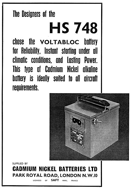 Cadmium Nickel Batteries Ltd - VOLTABLOC Battery