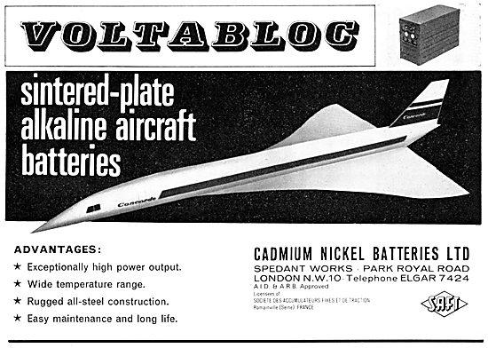 Cadmium Nickel Batteries Sintered Plate Alkaline Aircraft Battery