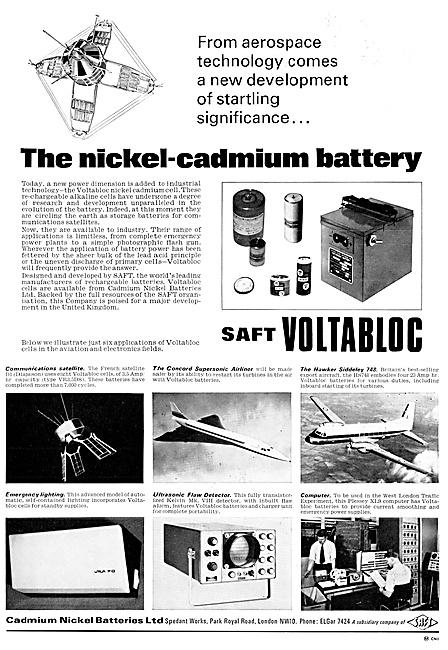Cadmium Nickel Batteries Ltd - SAFT Voltabloc Batteries