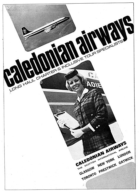 Caledonian Airways 1965