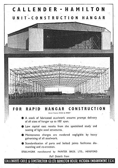 Callender-Hamilton Construction Hangars