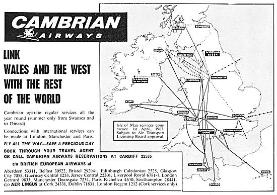 Cambrian Airways 1962