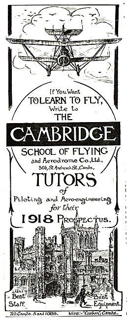 The Cambridge School Of Flying