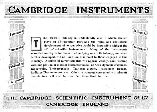 The Cambridge Scientific Instrument Co Ltd - Measuring Equipment