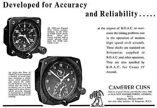 Camera Cuss Aircraft Clocks