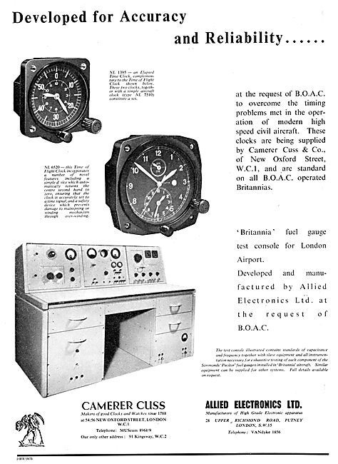 Camera Cuss Aircraft Clocks & Instrument Test Equipment