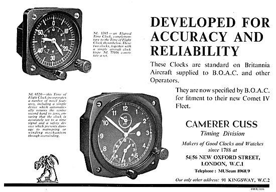 Camera Cuss Aircraft Instruments