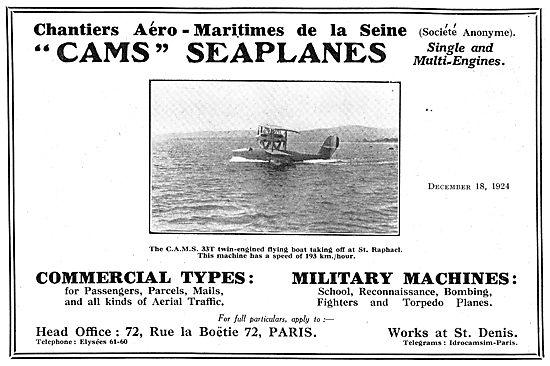 CAMS Seaplanes