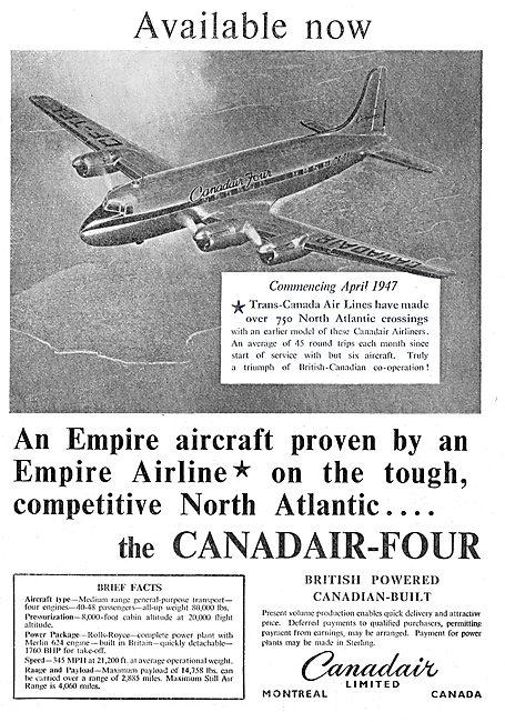 Canadair-Four