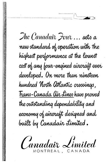 Canadair Four