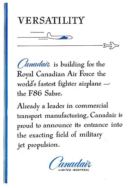 Canadair - F86 Sabre