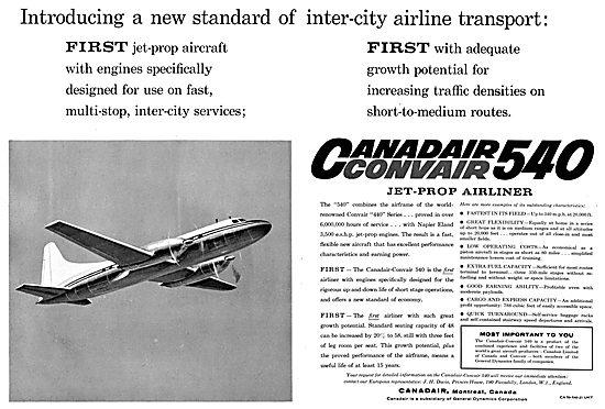 Canadair Convair 540