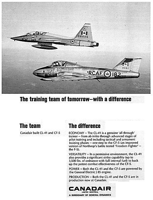 Canadair Built CL-41 & CF5