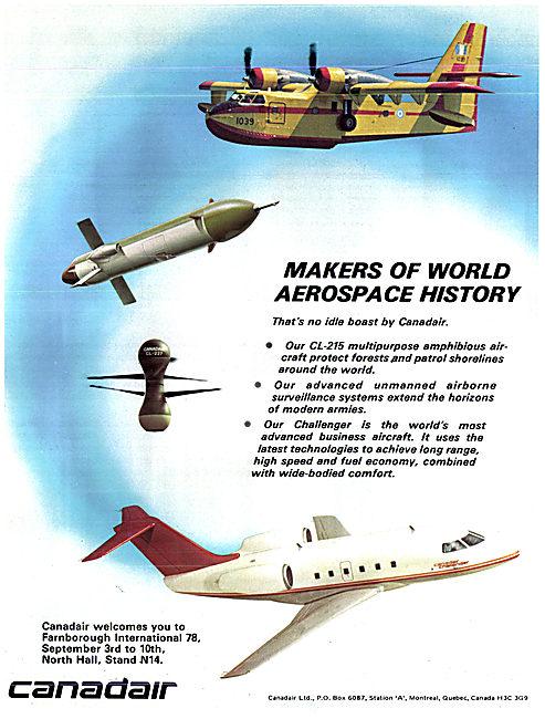 Canadair CL-215 / Canadair Challenger