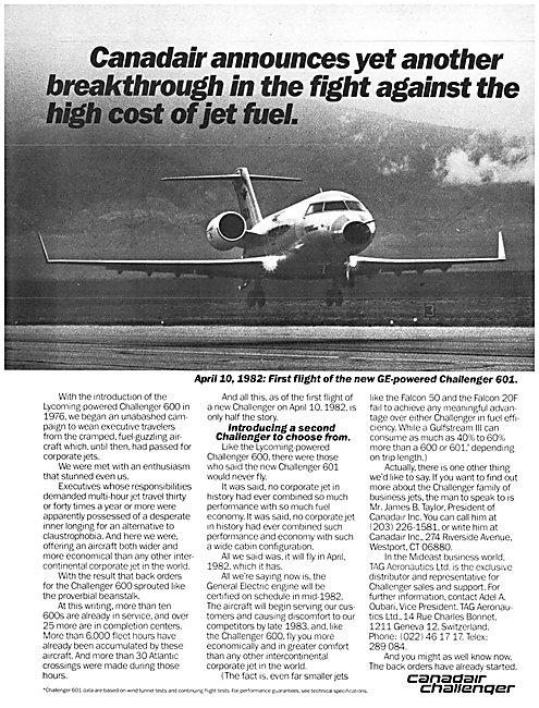 Canadair Challenger