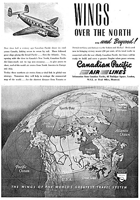 Canadian Pacific Air Lines 1943