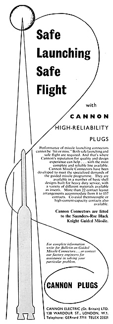 ITT Cannon Electrical Equipment 1959