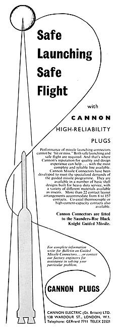 ITT Cannon Electrical Equipment 1959