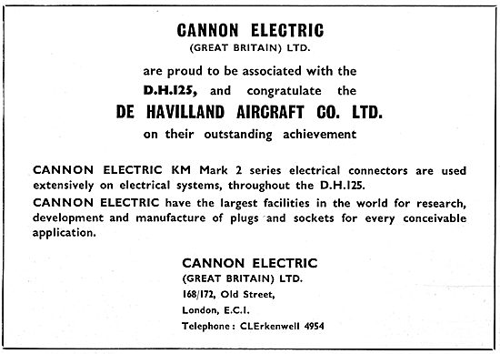 Cannon Electric  - KM Mark 2 Series Electrical Connectors