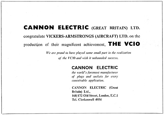 ITT Cannon Electrical Equipment