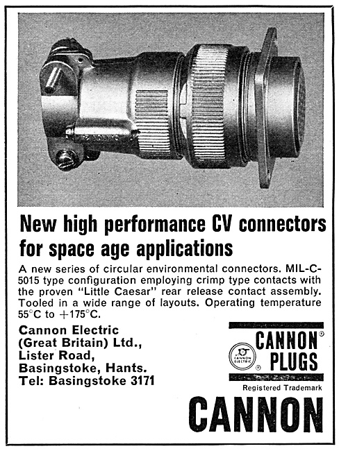 ITT Cannon Electrical Plugs & Connectors