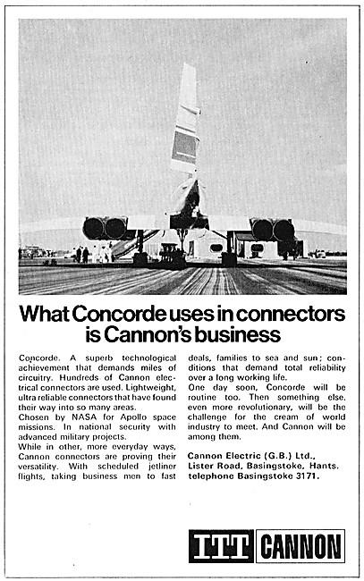 ITT Cannon Electrical Connectors