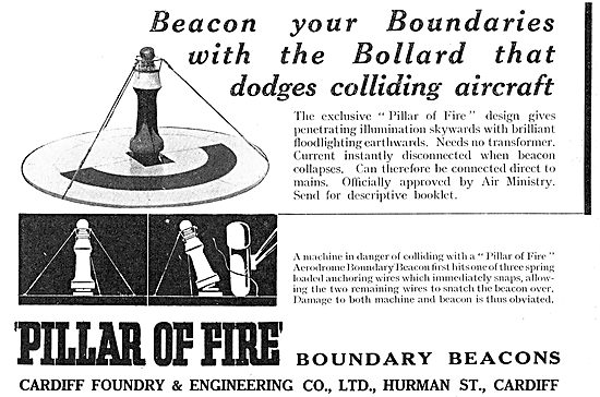 Cardiff Foundry Hurman St. Pillar Of Fire Boundary Beacons