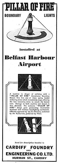 Cardiff Foundry  Pillar Of Fire Boundary Beacons