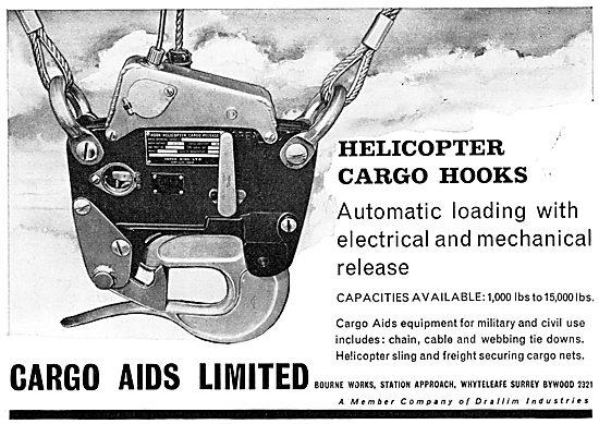 Cargo Aids Ltd - Helicopter Cargo Hooks