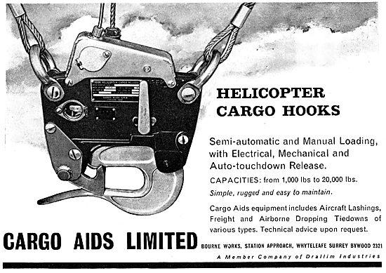 Cargo Aids Ltd. Helicopter Cargo Hooks