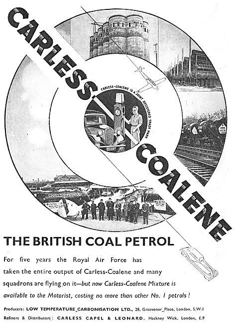 Carless Coalene - The British Coal Petrol