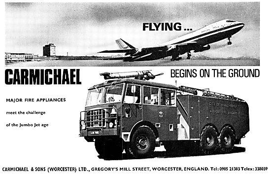 Carmichael Airfield Fire Appliances