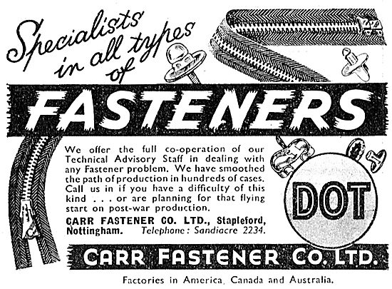 Carr Fasteners  Dot Fasteners.