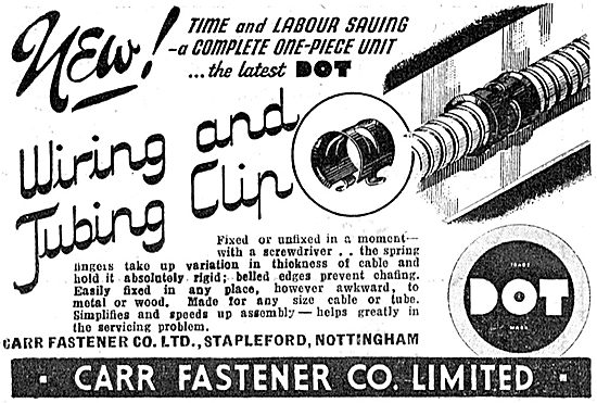 Carr Fasteners  Dot Fasteners & Electrical Clips