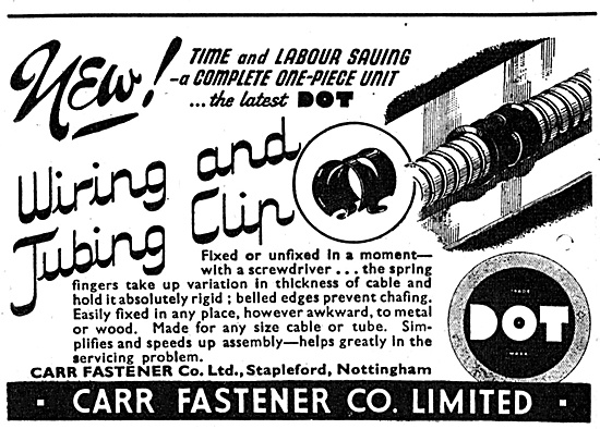Carr Fasteners  DOT Fasteners 1944