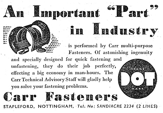 Carr DOT Fasteners